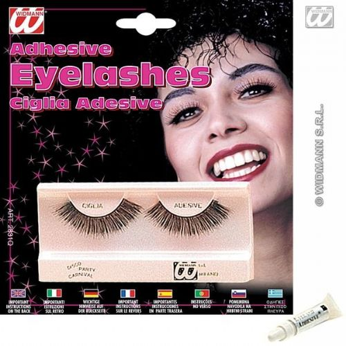 Eyelashes Long Black Makeup Cosmetics